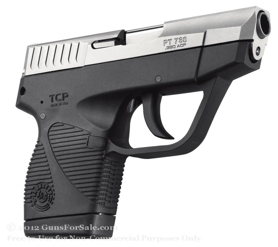 Taurus 738SS TCP .380 ACP Pistol