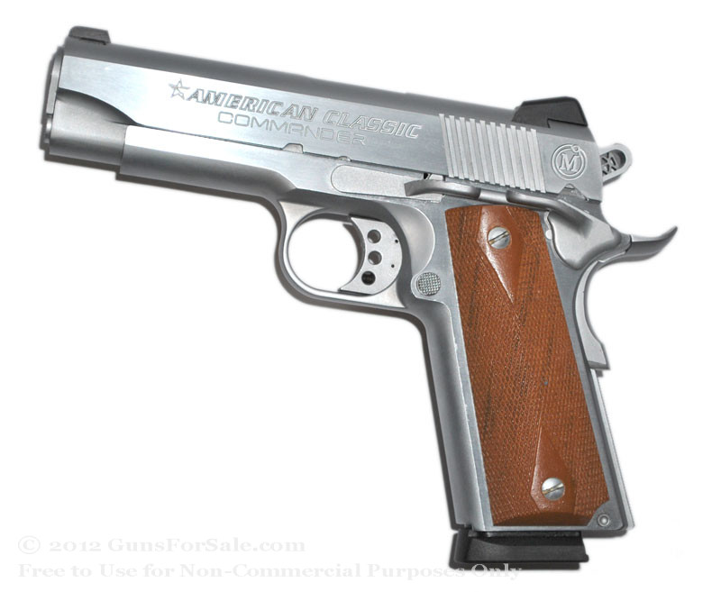 American Classic Commander 1911 For Sale - Hard Chrome