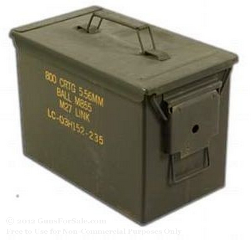 Surplus SAW Green Ammo Can - 1