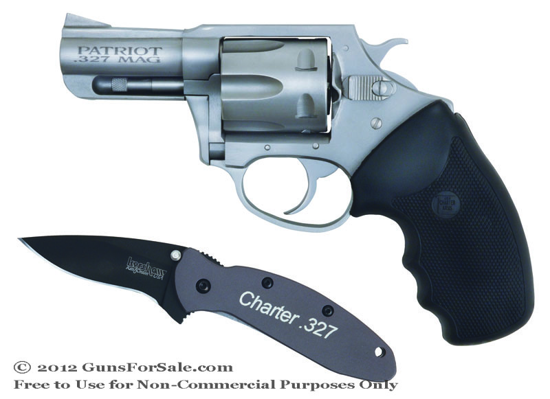 Charter Arms Patriot .327 Federal Magnum