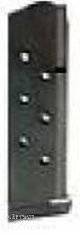 C-Products 1911 45 Auto 8 Round Stainless Steel Magazine Black Matte Finish - 1
