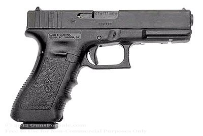Glock 17 - Full-Size 9mm - Black - 17 Rd Magazine - Fixed Sights