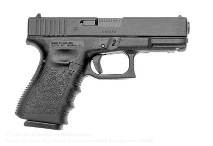 Glock 19 9mm Night Sights 15 Round Magazine