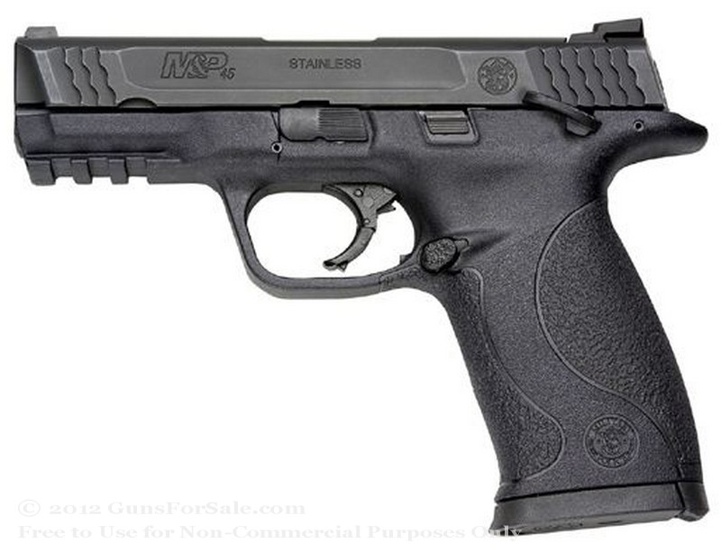 "Smith & Wesson M&P45 - 45 ACP - 10 Rd Magazine - 4"" Barrel - Fixed Sights"