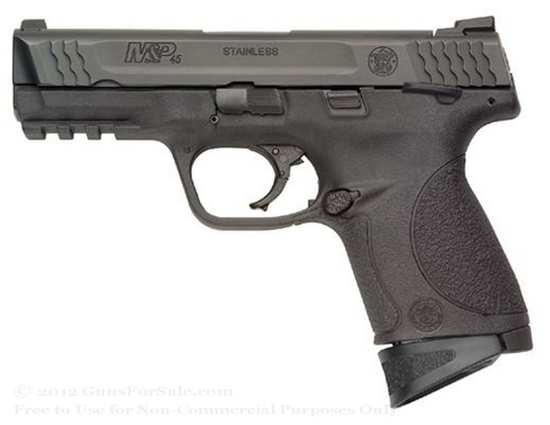 "Smith & Wesson M&P45c - Compact 45 ACP - 8 Rd Magazine - 4"" Barrel - Fixed Sights"