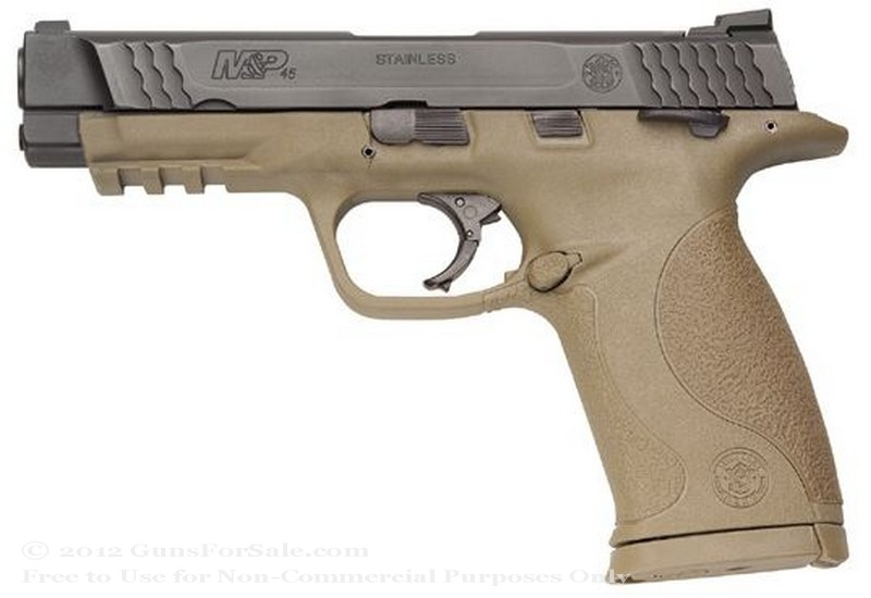 "Smith & Wesson M&P45 - Dark Earth Brown - 45 ACP - 10 Rd Magazine - 4.5"" Barrel - Fixed Sights"