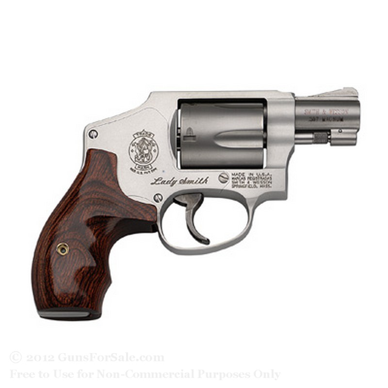 Smith & Wesson 642 Revolver - 38 Special +P - 5 Rd Capacity - LadySmith - Fixed Sights