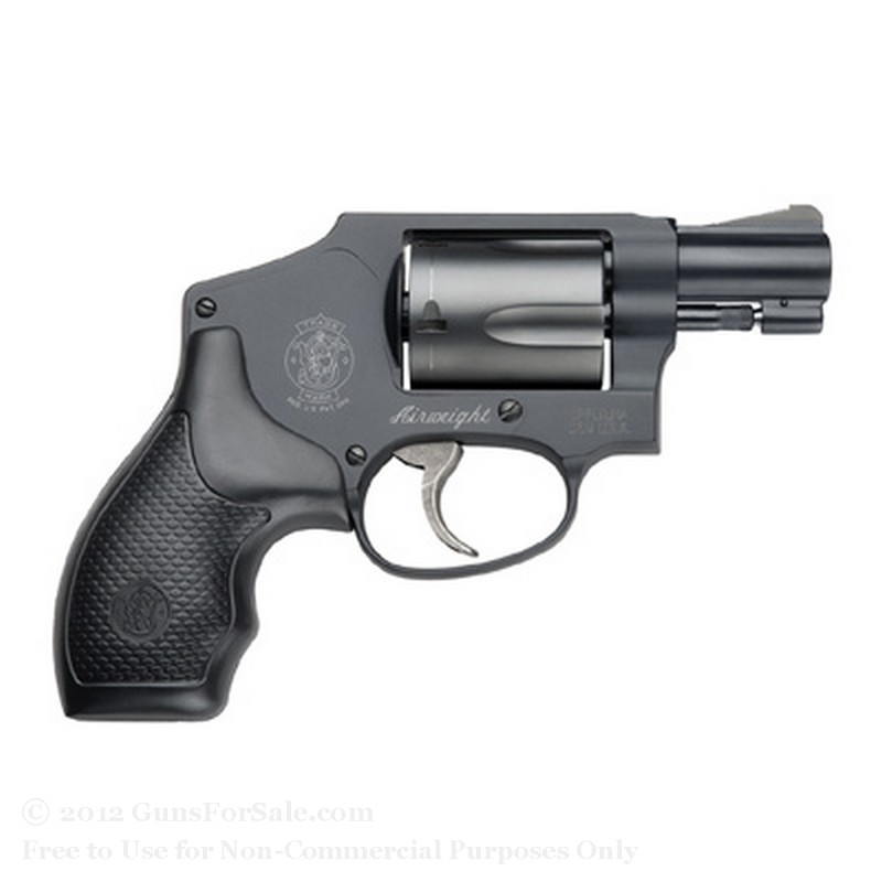 Smith &amp; Wesson 442 Pro Revolver - 38 Special +P - 5 Rd Capacity - Fixed Sights