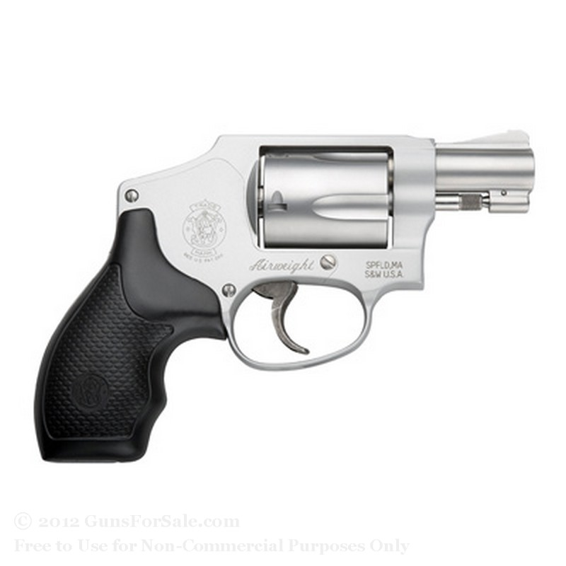 Smith & Wesson 642 Pro Revolver - 38 Special +P - 5 Rd Capacity - Fixed Sights