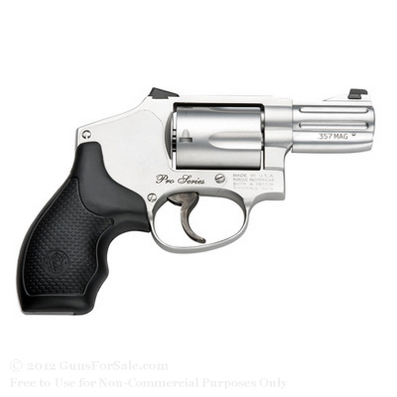Smith & Wesson 640 Pro Revolver - 357 Magnum - 5 Rd Capacity - Night Sights