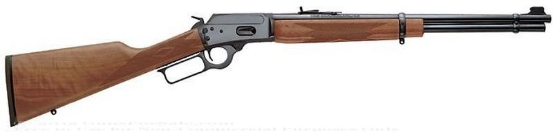 Marlin - 357 Mag/38 Special - Walnut Finished Stock - 9 Rd Tubular Magazine - Adjustable Sights