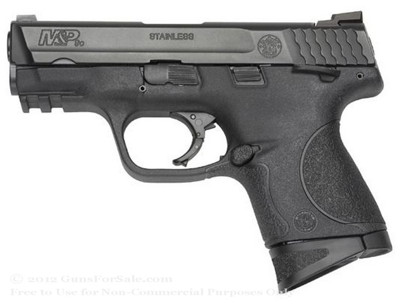 "Smith & Wesson M&P9c - Compact - 9mm - 12 Rd Magazine - 3.5"" Barrel - Fixed Sights"