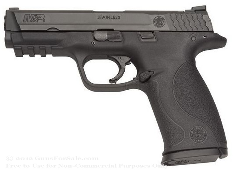 "Smith & Wesson M&P9 - 9mm - 17 Rd Magazine - 4.25"" Barrel - Fixed Sights"