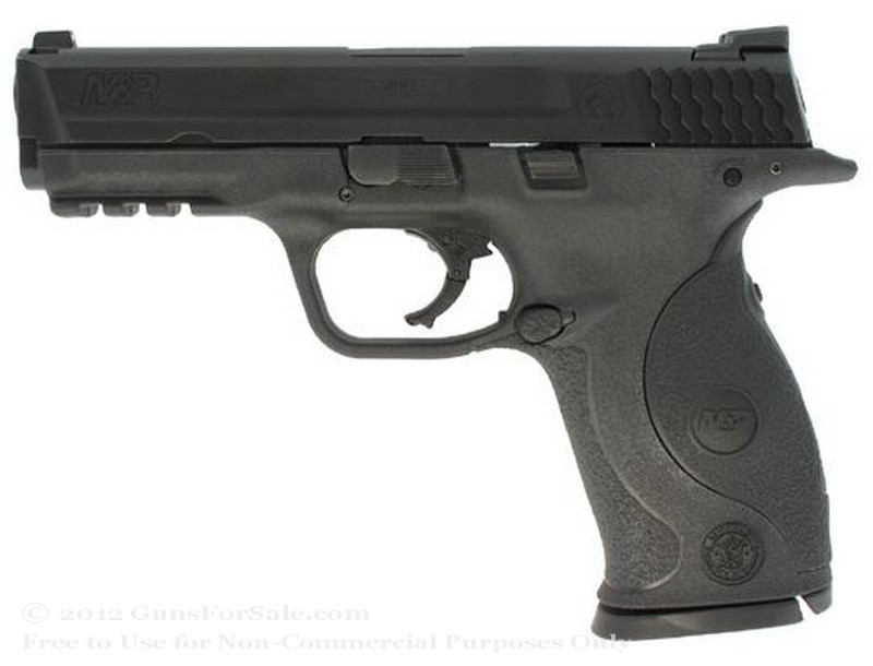 "Smith & Wesson M&P9 - Crimson Trace Lasergrip - 9mm - 17 Rd Magazine - 4.25"" Barrel - Fixed Sights"