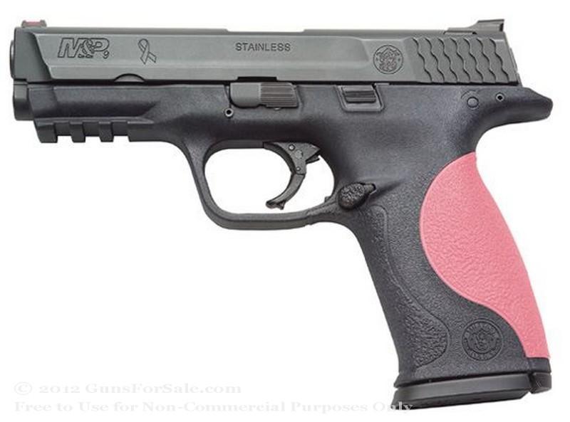 "Smith & Wesson M&P9 JG - 9mm - 17 Rd Magazine - 4.25"" Barrel - Fiber Optic Front Sight"