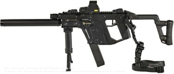 "Kriss Vector CRB - 45 ACP 16"" Carbine with TacPac"