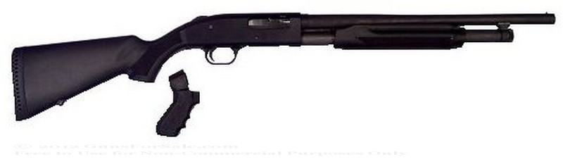 Mossberg 50521 500 Persuader - 12 Ga - Black Synthetic Stock - 5+1 Round Capacity