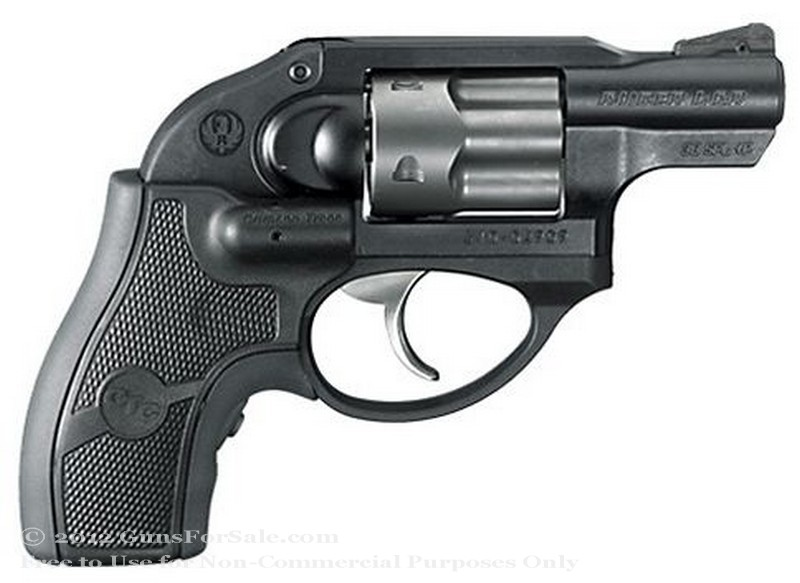 Ruger LCR - 38 Special +P   Crimson Trace Lasergrip - Matte Black Finish - 5 Rd - Fixed Sights