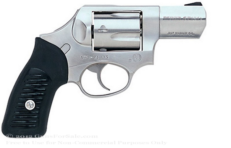 Ruger SP101 - 357 Magnum - Stainless Steel Finish - 5 Rd - Fixed Sights