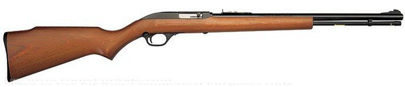 Marlin - 22 Long Rifle (LR) - Walnut Finished Stock - 14 Rd Tubular Magazine - Adjustable Sights