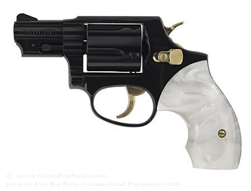 "Taurus 85 Ultra-Lite Snubnose Revolver - 38 Spl +P - 2"" Barrel - Pearl Grips - 5 Round Capacity - Fixed Sights"