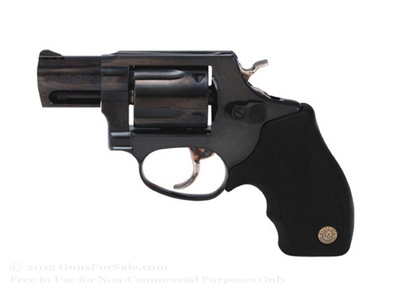 "Taurus 85 Snubnose Revolver - 38 Spl +P - 2"" Barrel - Rubber Grips- 5 Round Capacity - Fixed Sights"