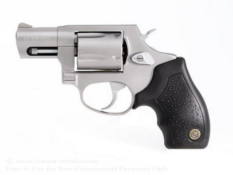"Taurus 85 Snubnose Revolver - 38 Spl +P - 2"" Barrel - Stainless Steel - 5 Round Capacity - Fixed Sights"