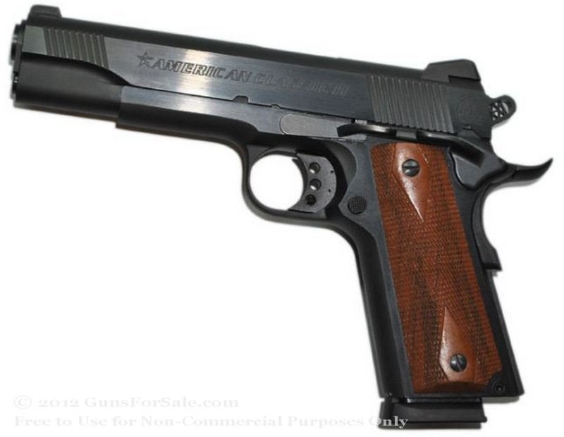 American Classic II 1911 - 45 ACP - Black - 8 Rd Magazine - Novak Rear Sight