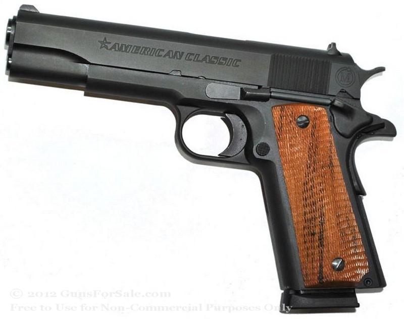 American Classic 1911 - 45 ACP - Black - 8 Rd Magazine - Mil Spec Sights