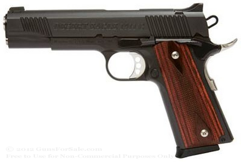 Magnum Research Desert Eagle 1911 - Full Size - 45 ACP - Blued Finish - 7 Rd Magazine - Fixed Sights