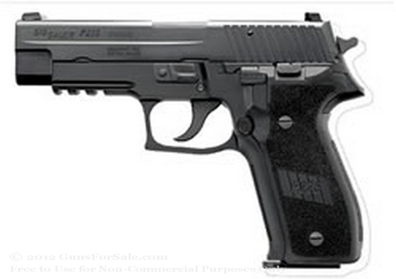 SIG SAUER P226 - 357 Sig - Blued Finish - 12 Rd Magazine - Night Sights