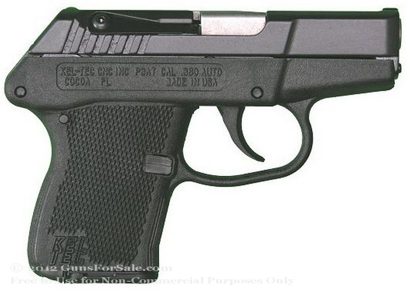 Kel-Tec P3AT - 380 ACP - Blued Finish - 6 Rd Magazine - Fixed Sights