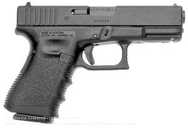 Glock 23 - Compact 40 S&amp;W - Black - 13 Rd Magazine - Fixed Sights