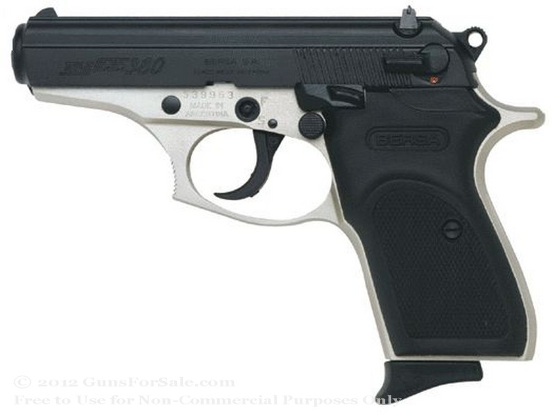 Bersa Thunder - 380 Auto Crimson Trace Lasergrip - Duotone Finish - 7 Rd Magazine - Fixed Sights