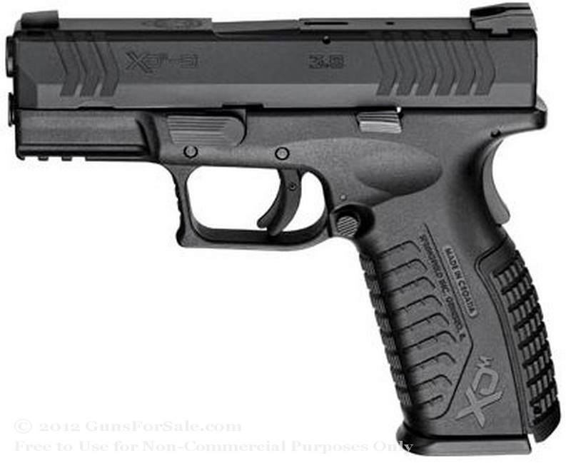 "Springfield XD M Factor - 3.8"" 9mm - Black - 19 Rd Magazine - Fixed Sights"