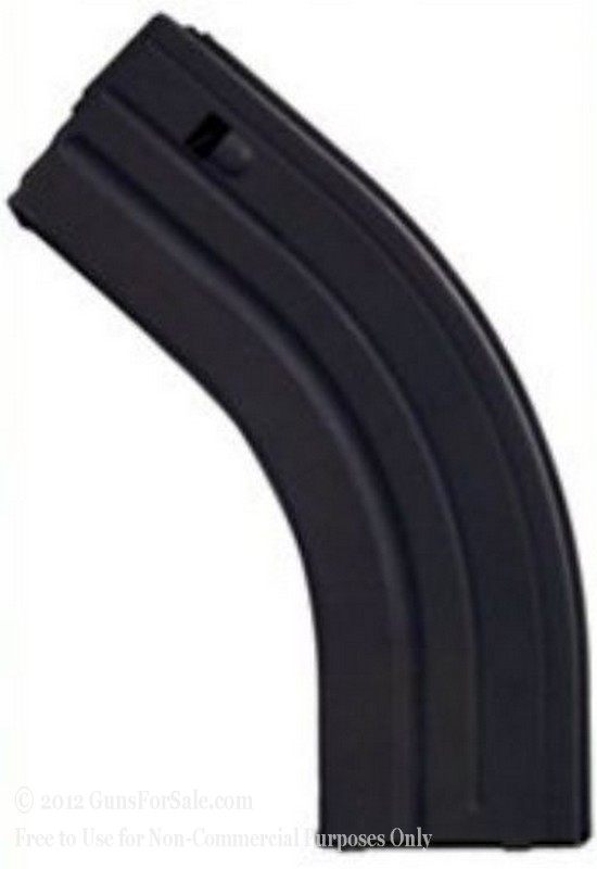 C-Products 7.62x39mm 30 Round Black Stainless Steel Magazine - 1