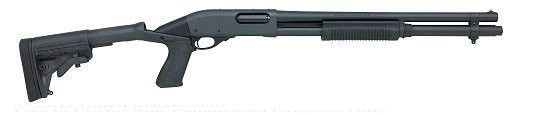 Remington 870 Tactical Shotgun with Knoxx Stock
