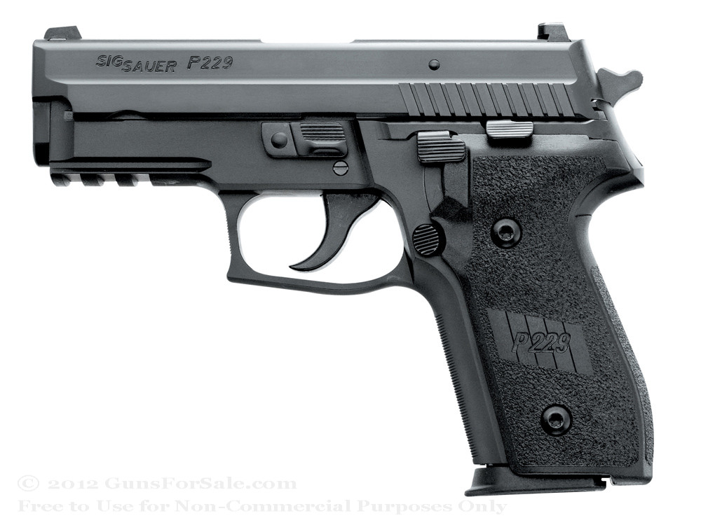 Sig Sauer P229 in .357 Sig with Night Sights