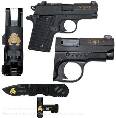 USMC Edition Set - P238 and Knife