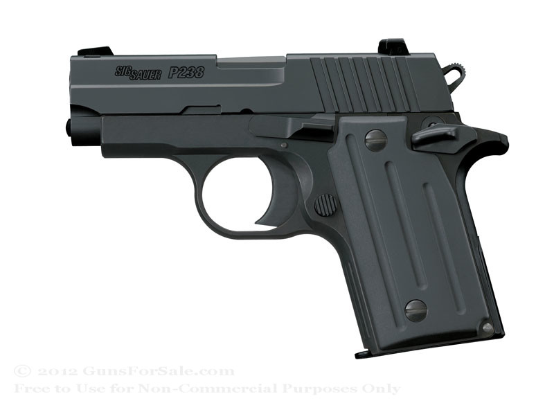 Sig Sauer P238 Pistol Black