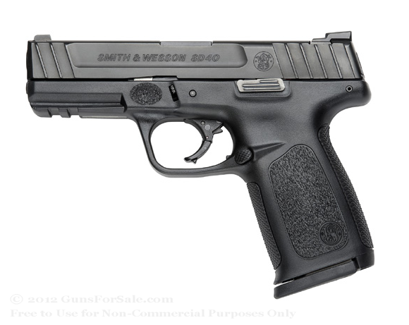 Smith & Wesson SD40 pistol
