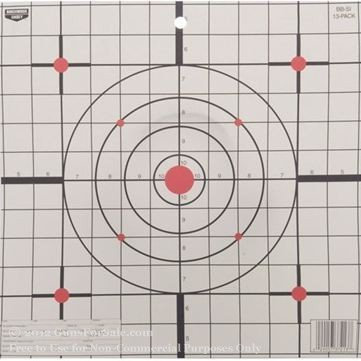 "Birchwood Casey 12"" EZ-SCORER Paper Sight-In Targets - 13"