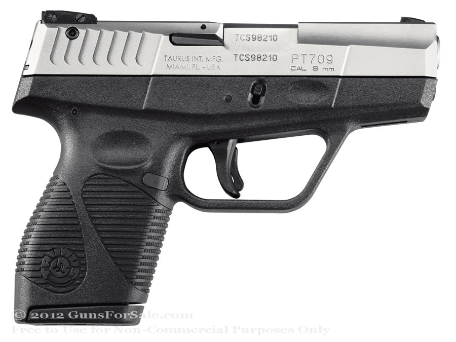 Taurus 709SS Slim 9mm Stainless Steel
