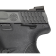 Smith & Wesson M&P40c Thumb Safety rear sight